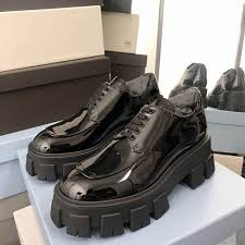 black patent leather shoes women round