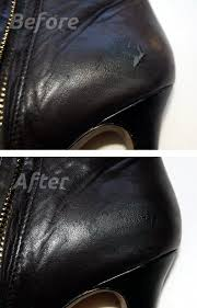 leather shoes diy