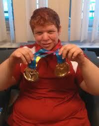Special Olympian Jenna Smith wins 3 world game golds | CBC News