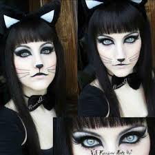 46 kick halloween cat makeup ideas