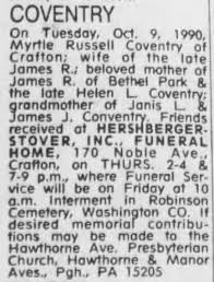 Jennie Myrtle Russell (1892-1990) death notice - Newspapers.com