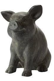 pig statue garden statues
