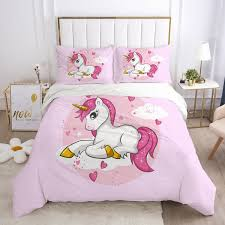 kids cartoon bedding set for children