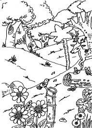 Bos Dieren In Het Bos Kleurplaten