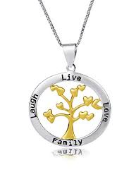 sterling silver two tone circle live