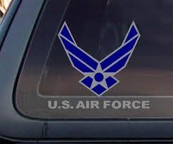 Usaf U S Air Force Car Decal Sticker Car Decals Stickers Air Force Car Decals