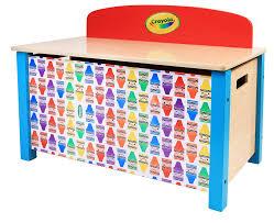 Grow N Up Crayola Wooden Storage Chest Wayfair