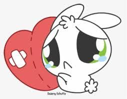 anime broken hearted chibi