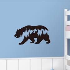 Buy 1 Piece Wall Sticker Simple Style Polar Bear Kids Room Kindergarten Wall Decal Wall Stickers At Jolly Chic