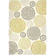 maysa pinwheel yellow 8x10 rug