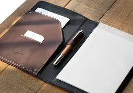 small leather padfolio small leather