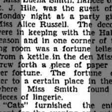 Lingerie Shower for Miss Luella Smith - Newspapers.com