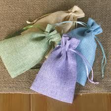 imitation hemp sack wedding candy bags