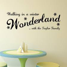 M 7 Walking In The Winter Vinyl Wall Stickers Home Decor Living Room Diy Wall Art Decals Removable Sticker For Decoration Decal Your Wall Decals From Fst1688 4 41 Dhgate Com