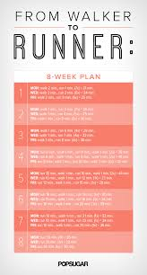 8 week plan to go from walking to