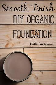 diy foundation makeup with spf