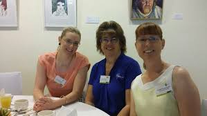 Tegan Gunter, Toni Kneen and Priscilla Stevens-Guiney from CQU Christine  ... | Buy Photos Online | Observer