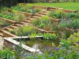 terraced garden radlett julian