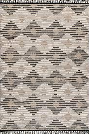 indoor outdoor rugs 8633 black jute