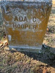 Ada Cook Hooper (1870-1946) - Find A Grave Memorial
