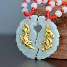 pendant good luck jade necklace
