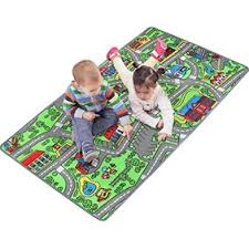 Large 60 X 32 Kids Carpet Playmat Rug Great For Playing With Cars Play Learn And Have Fun Safely Walmart Com Walmart Com