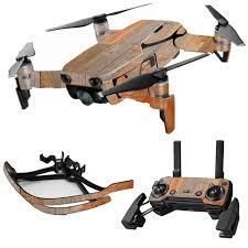 Skin Decal Wrap For Dji Mavic Air Drone Max Combo Sticker Barn Wood Walmart Com Walmart Com