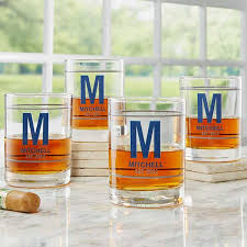 name personalized whiskey glasses