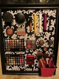 easy makeup storage and organizing ideas