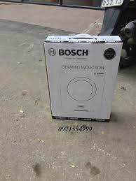 Bếp từ đơn BOSCH Model pmi668ih xách tay Đức Made in Germany (Đen) công  suất 2300w bảo hành 24 tháng