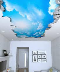 Sky 3d Effect Ceiling Decals Moonwallstickers Com