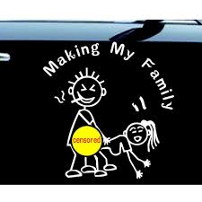 2020 Stick Figure Making My Family Decal Windowfunny Sticker Car Nobody Cares 6 High Reflective Silver From Mysticker 4 03 Dhgate Com