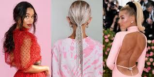 best celebrity ponytails of 2020