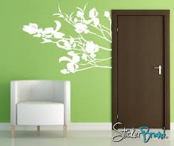 Vinyl Wall Decal Sticker Dogwood Blossoms Ac151b Etsy