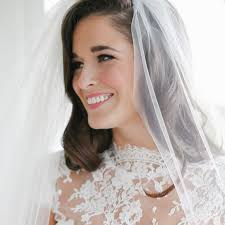 simple hair and makeup for wedding