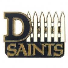 Saints D Fence Pin New Orleans Saints Football Saints Football Saints