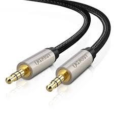 Cáp Audio Aux 3.5mm dài 5m Chính hãng Ugreen 40783