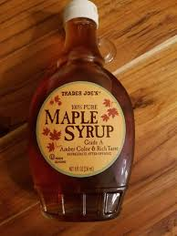 trader joe s grade a maple syrup