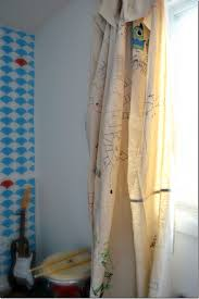 Drop Cloth Curtains A Great Kid S Room Idea