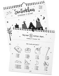 Sinterklaas Aftelkalender En Doe Boek Aftelkalender Sinterklaas