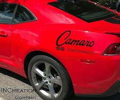 Compatible With Chevrolet Camaro Vinyl Decals Bumble Bee Chevy Ss Stickers Sport Ebay