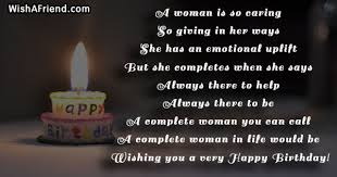 birthday quotes for women page