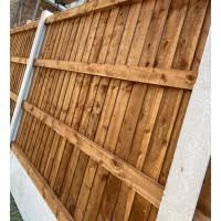 6ft X 5ft Ultra Heavy Duty Closeboard Fence Panel East Coast Fencing