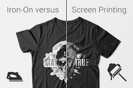 Iron On Vs Screen Printing Stickeryou