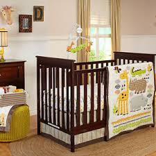 zoobilee pakage 7 piece crib bedding
