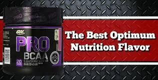 the best optimum nutrition flavor 2018