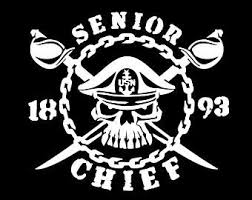 Navy Chief Decal Etsy
