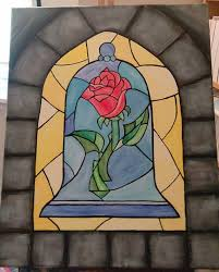 enchanted rose beauty and the beast