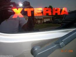 Purchase Nissan Xterra 3rd Brake Light Decal Overlay 00 01 02 03 04 Motorcycle In Ships To N America Ca For Us 11 99