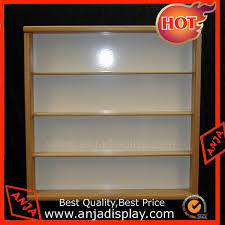portable wood and glass shelves wall